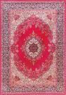 范登伯格 紅寶石輕柔絲質感地毯-踏墊-門墊-凱典(紅)-100x140cm