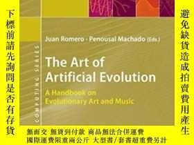 二手書博民逛書店The罕見Art Of Artificial EvolutionY255562 Juan Romero Spr