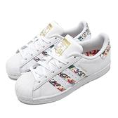 adidas 休閒鞋 Superstar 白 彩色 男鞋 女鞋 金標 潑漆手繪風格 愛迪達 運動鞋 【ACS】 FX5540