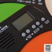伊諾12寸啞鼓墊套裝架子鼓練習鼓打擊板墊電子節拍器啞鼓初學入門 MKS薇薇