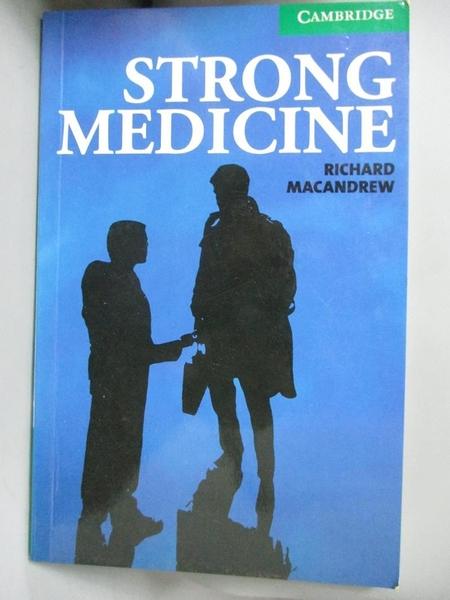 【書寶二手書T1/原文書_IKG】Strong Medicine: Level 3_Macandrew, Richard