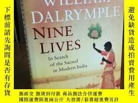 二手書博民逛書店Nine罕見Lives: In Search of the Sa