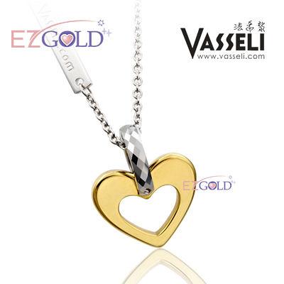 VASSELI ◤香檳心◢ 鎢鋼墜飾