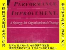 二手書博民逛書店Competency-Based罕見Performance ImprovementY246860 Compet