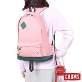 CHUMS 日本 SxN 經典豬鼻休閒後背包 珊瑚粉/藤綠 CH6006812616