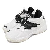 【海外限定】Reebok 休閒鞋 Pump Court 白 黑 充氣科技 復古更新 男鞋 運動鞋【ACS】 FW7817