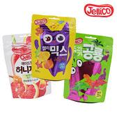 韓國 Jellico 造型水果軟糖 恐龍造型軟糖/綜合水果軟糖/蜂蜜葡萄柚 80g 【庫奇小舖】