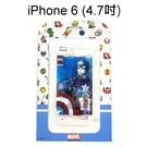 復仇者海報版透明軟殼 [美國隊長] iPhone 6 / 6S (4.7吋)【正版授權】