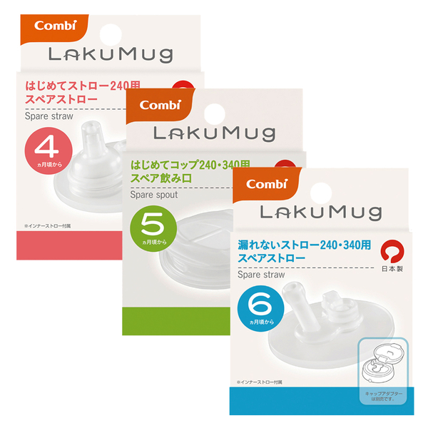 Comb康貝 - Laku Mug 樂可杯 替換吸嘴/吸管