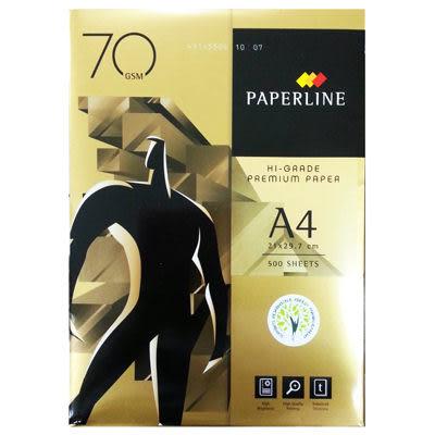 金牌PAPER LINE A4 70gsm雷射噴墨白色影印紙