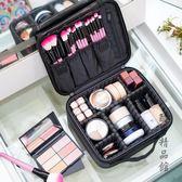 化妝包大容量專業簡約便攜小號韓國ins網紅旅行化妝品收納包可愛 酷男精品館