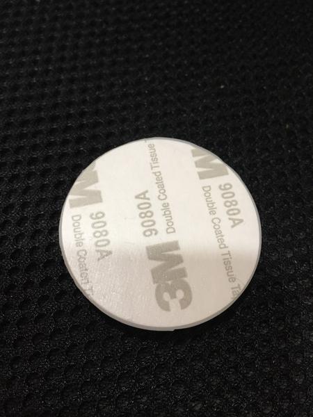 【麗室衛浴】新品上市 軟質3M矽膠白色防撞片 是用於淋浴拉門 門片 防撞用