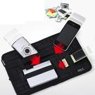 多功能彈性收納板 固定置物板 防滑 旅行收納包 包中包 攜帶式收納袋 行李掛袋 文件平板 【RB388】
