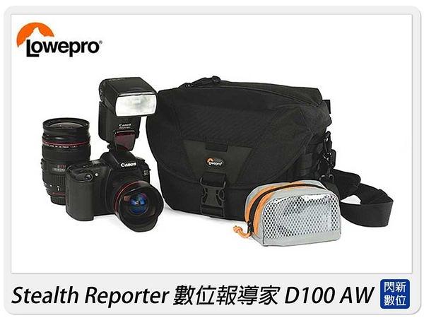 【6期0利率,免運】LOWEPRO 羅普 Stealth Reporter D100 AW 數位報導家 D100AW 側背 肩背包 適用EP3/600D/60D