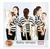傳統嬰兒背帶簡易寶寶背帶四爪初新生嬰兒后背式前抱式背袋網【全館88折~限時】