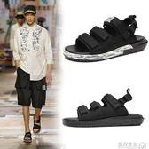 涼拖鞋男新款夏季涼鞋男士室外韓版潮流軟底時尚外穿休閒拖鞋 遇見生活