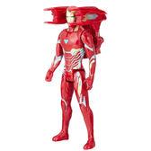 漫威 復仇者聯盟3 孩之寶Hasbro  無限之戰 電影12吋泰坦英雄電子鋼鐵人 E0606