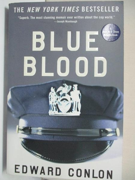 【書寶二手書T9/政治_KE1】Blue Blood_Conlon, Edward