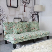 沙發小戶型出租房臥室可摺疊床兩用特價經濟型雙人三人位布藝沙發 科炫數位