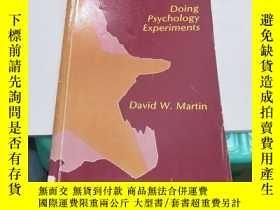 二手書博民逛書店doing罕見psychology experiments(V164)Y173412 David W.Mart
