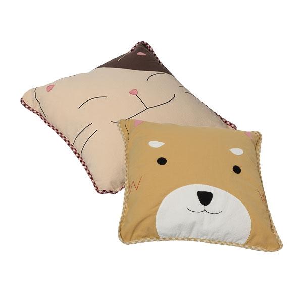 精神糧食方形抱枕(不含枕心)/靠枕/抬腿枕/拼布包包