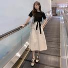 兩件式洋裝 夏裝2020新款網紅裙子套裝...