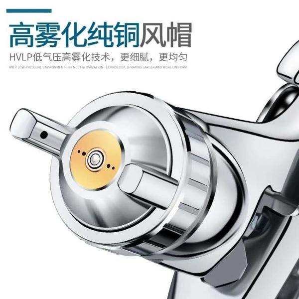 台灣三普W-71噴槍油漆噴槍高霧化噴漆工具木器家具家裝氣動噴漆槍 夏季特惠