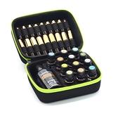 精油收納包 多功能手提式精油收納包滾珠瓶包便攜盒防震精油包藥油分裝瓶適用 快速出貨