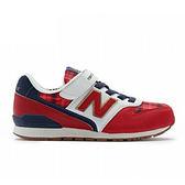 New Balance 中童鞋  男女童鞋 兒童復古跑鞋 英格蘭紋 寬楦 慢跑鞋 NB 996 KV996CCY