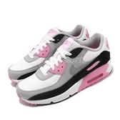 Nike 休閒鞋 Air Max 90 LTR GS 白 粉紅 女鞋 大童鞋 運動鞋 【ACS】 CD6864-104