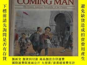 二手書博民逛書店英文原版罕見Coming Man by Marlon K. Ho