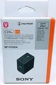 【台灣索尼公司貨】SONY NP-FV100A 原廠電池 3410mAh 原廠鋰電池 【完整盒裝】