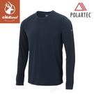 【Wildland 荒野 男 P/G體表舒適調節機能衣《深藍》】P2662/中層衣/衛生衣/排汗衣/保暖