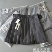 工廠外貿原尾單女裝高腰百褶裙短裙剪標尾貨西裝A字顯瘦半身裙褲 夏季特惠