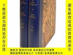 二手書博民逛書店The罕見Oxford Dictionary Of Late AntiquityY364153 Oliver