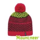 【Mountneer】保暖針織毛線帽『桃紅』12H62 戶外.休閒.旅行.保暖.禦寒.冬季.出國旅遊