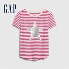Gap女童棉質舒適圓領短袖T恤54607...