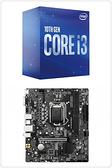 【自組DIY兩件組I3】Intel i3-10100+微星 H510M BOMBER