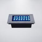 戶外防水地底燈 附LED21粒 附預埋筒