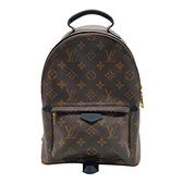 【台中米蘭站】全新展示品 Louis Vuitton Palm Springs PM 經典花紋後背包(M44871-咖)