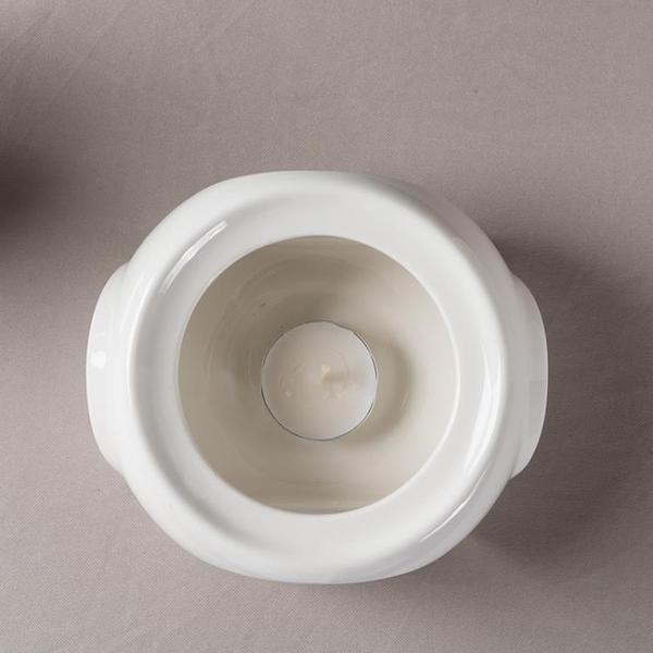 暖杯器保溫器陶瓷玻璃溫茶爐花茶具蠟燭加熱底座恒溫日式煮曖茶器 新年禮物