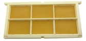 蜜蜂中蜂500g搖蜜機巢蜜盒蜂箱包