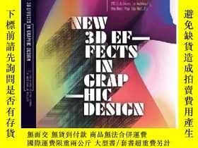 二手書博民逛書店New罕見3D Effect in Graphic Design
