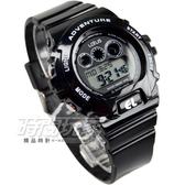 Lotus 時尚潮流多功能電子腕錶 男錶 學生錶 軍錶 夜視燈 TP1279L-01黑黑