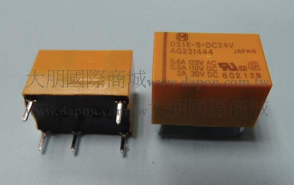 *大朋電子商城*Panasonic DS1E-S-DC24V 繼電器Relay(5入)