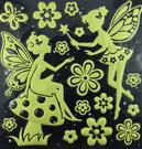 【收藏天地】螢光壁貼系列-小仙女/  家飾 生活 居家 裝飾 掛飾 環保 卡通 可愛