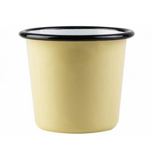 【芬蘭Muurla】基本黃琺瑯杯200cc(黃色)