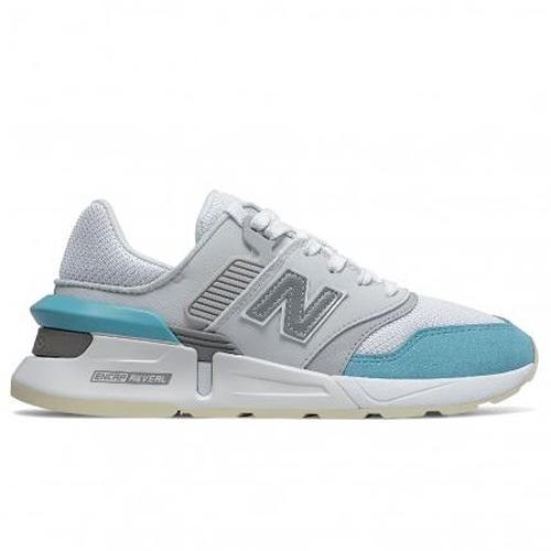 New Balance 997 女鞋 休閒 復古 ENCAP REVEAL 網布 灰 藍【運動世界】WS997GFK