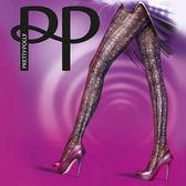 『摩達客』英國進口 Pretty Polly 抽象線紋印花彈性褲襪 (60113076009)