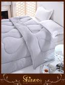 SHINEE 100$純棉表布《50%竹炭健康溫暖冬被》單人(4.5X6.5尺)-竹炭被 另有雙人款